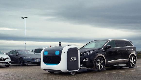 Robot que estaciona autos