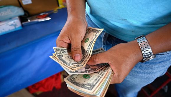 Dólar. (Foto: AFP)