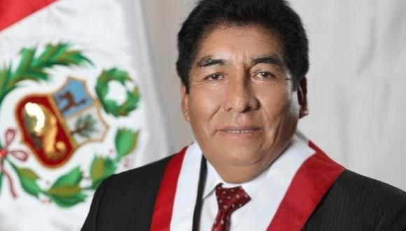 El congresista Hipólito Chaiña falleció en Arequipa este lunes 22 de febrero. (Foto: Difusión)