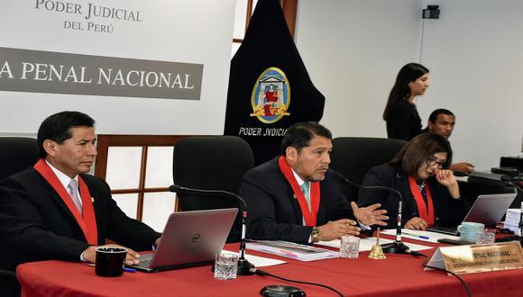 La Segunda Sala de Apelaciones de la Sala Penal Nacional  declara nulidad de la resolución que dispuso la detención preliminar de diez días contra Keiko Fujimori. (Foto: Poder Judicial)