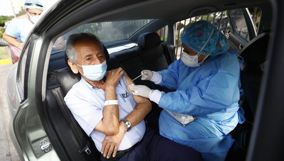 Actualmente la vacunación se realiza en todo el país. (Foto: Eduardo Cavero/ GEC)
