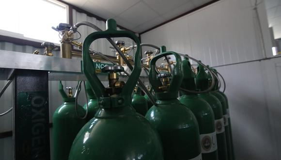 Se pueden llenar 24 balones de oxigeno al mismo tiempo  Leonardo Cuito