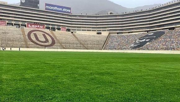 El directivo de Universitario señaló que a Lima ya llegó una delegación de la Conmebol para inspeccionar el estadio, que deberá adecuarse a contrarreloj para acoger el encuentro entre cariocas y bonaerenses. (Foto: Universitario de Deportes)