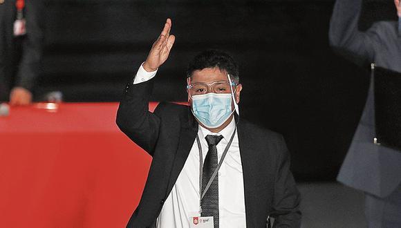 Raúl Doroteo indicó que durante las conversaciones con Perú Libre cambiaron mucho de interlocutor. (Foto: GEC | César Campos)