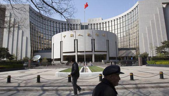 Banco Central de Reserva de China. (Foto: Bloomberg)