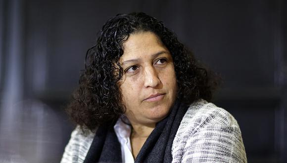 Fabiola Muñoz se refirió hoy al tema del paro agrario convocado por dirigentes gremiales. (Foto: GEC)