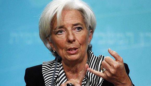 Las fuentes añadieron que Lagarde se ganó a varios miembros haciendo cambios en el texto y varios elogiaron la habilidad política de Lagarde para conseguir un amplio apoyo al final. (Foto: Difusión)