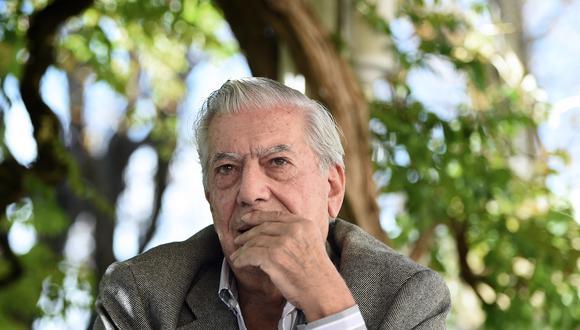 Mario Vargas Llosa se refirió a las Elecciones Generales del 2021 que se llevarán a cabo en Perú. (Foto: AFP)