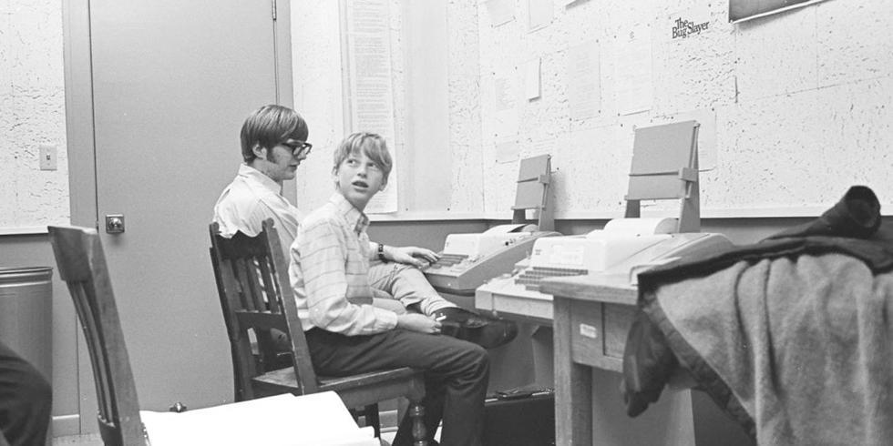 FOTO 1   1. Bill Gates y Paul Allen, Microsoft (Foto: TIME)