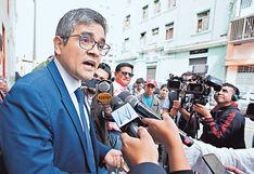 """José Domingo Pérez confía que """"a más tardar el lunes se pida la nulidad del fallo"""" que favorece a Keiko Fujimori"""