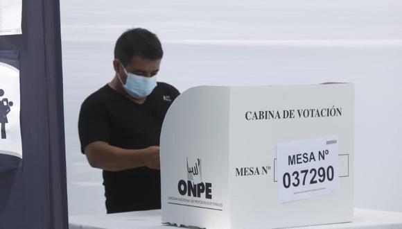 La ONPE sigue tramitando las actas de las elecciones generales 2021 del 11 de abril. (Foto: GEC)