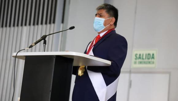 Carlos Rúa, gobernador regional de Ayacucho, es presidente de la ANGR. (Foto: ANGR).