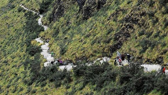 Cusco: Piden poner en valor camino inca que une Machu Picchu con zona amazónica (Foto: Andina)