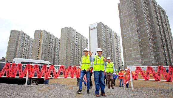 La Villa Panamericana será terminada de construir en diciembre próximo. (Foto: Copal/Facebook)
