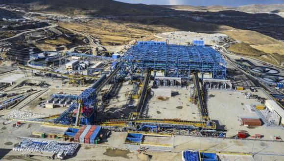 El proyecto minero Las Bambas en Apurímac. (Foto: Difusión)
