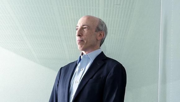 El presidente de la Comisión de Bolsa y Valores (SEC) de Estados Unidos, Gary Gensler. (Bloomberg)