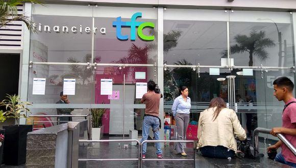 La Financiera TFC se encuentra en liquidación. (Foto: GEC)
