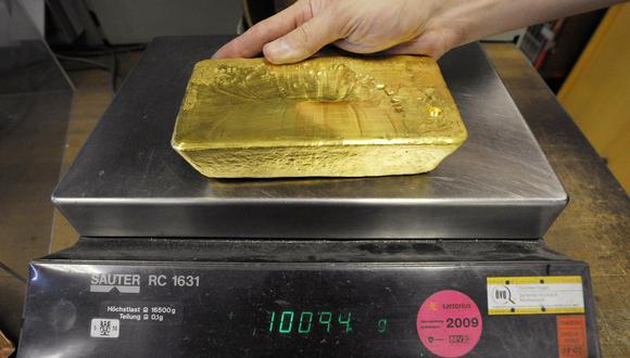 Los futuros del oro en Estados Unidos avanzaban 1.5% a US$ 1,970.70 la onza. (Foto: AFP)