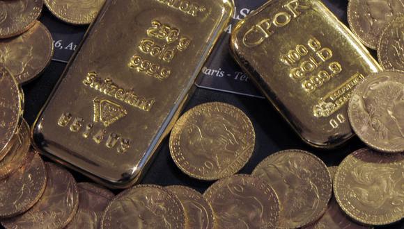 El oro, considerado una cobertura contra la inflación, la depreciación de la moneda y la incertidumbre, ha ganado más de un 24% este año. (Foto: AFP)