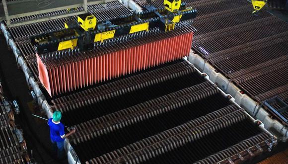 Las existencias de cobre en depósitos registrados ante la LME tuvieron una leve alza este jueves. (Foto: GEC)