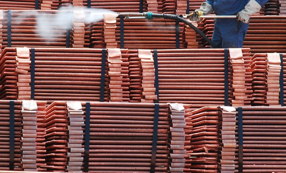 El cobre referencial en la Bolsa de Metales de Londres bajaba un 0.5%. (Foto: Reuters)
