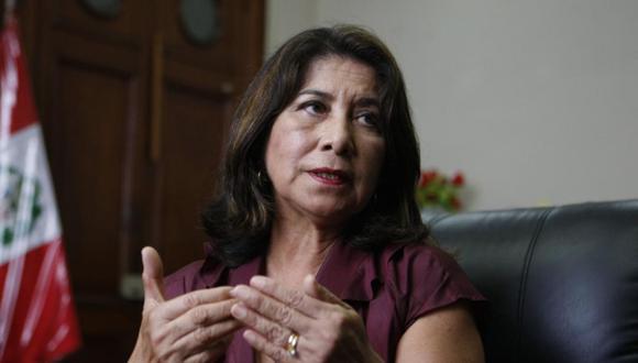 Martha Chávez se mostró a favor de que el presidente Martín Vizcarra realice cambios en el Gabinete Ministerial antes de solicitar el voto de confianza al nuevo Congreso. (Foto: GEC)