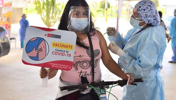 Tacna es la región que lidera el proceso de vacunación contra el coronavirus. (Foto: Geresa Tacna)
