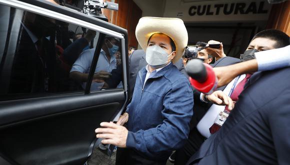 Pedro Castillo fue proclamado presidente electo por el JNE el último lunes. (Foto: archivo GEC)