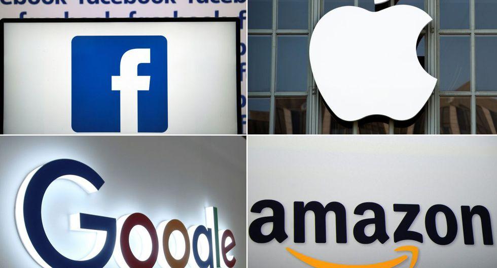 Google, Facebook, Apple y Amazon pertenecen al grupo de empresas gravadas por Francia con la Tasa GAFA. (Foto: AFP)