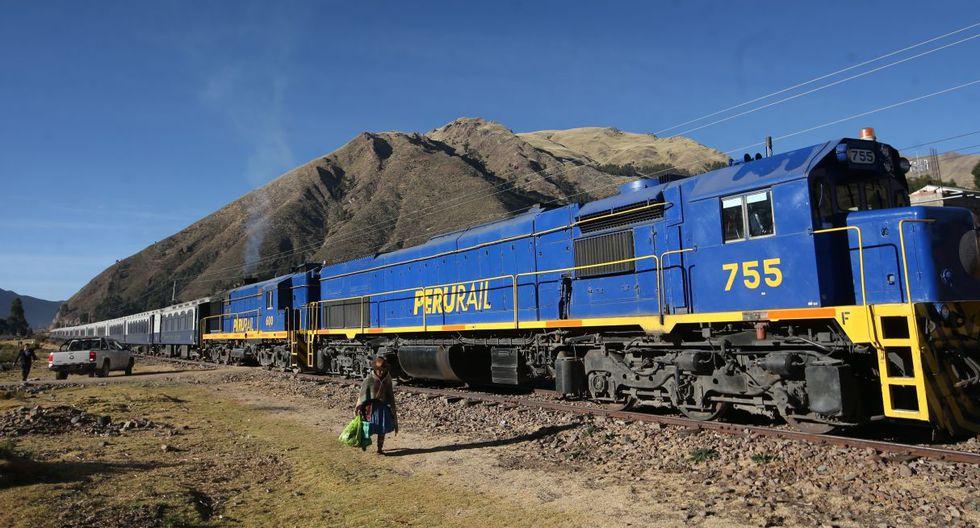 PerúRail es el operador ferroviario en el sur y sur oriente del país. (GEC)
