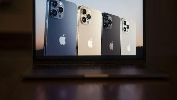 El iPhone 5G es la mayor presentación de productos de Apple del año y el primer gran rediseño del popular teléfono desde el 2017. Foto: Daniel Acker/Bloomberg