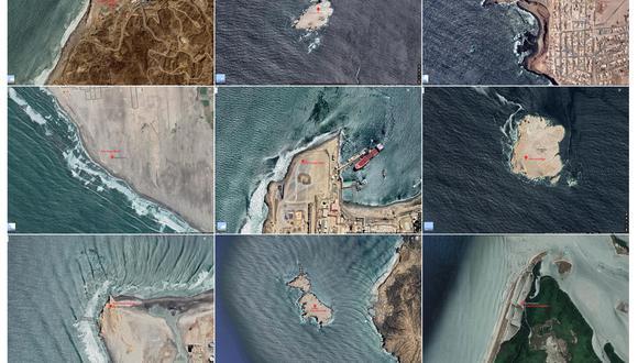 """La  muestra """"Todos los faros de la costa peruana"""" tuvo una primera existencia digital en la página web www.todolosfaros.org."""
