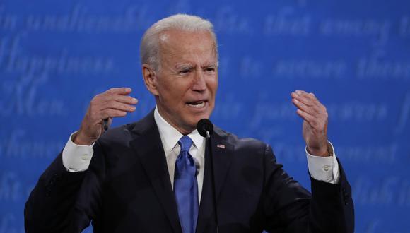 """La campaña de Biden no comentó sobre el caso de Irán para esta historia, pero remitió a un artículo de Biden en CNN.com en septiembre en el que dijo que tomaría un """"compromiso inquebrantable"""" para evitar que Irán adquiriera una bomba nuclear. (Foto: EFE)"""