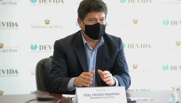 Presidente de Devida renuncia al cargo tras ataques de ministro del Interior (Foto: Difusión)