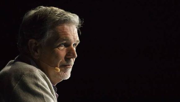 Reed Hastings, CEO de Netflix. (Foto: Bloomberg)