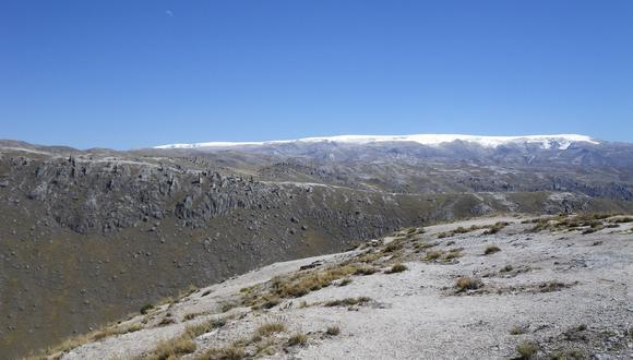La meseta de Macusani, donde se localiza el proyecto de litio Falchani, es rica en uranio (Foto: Macusani Yellowcake).