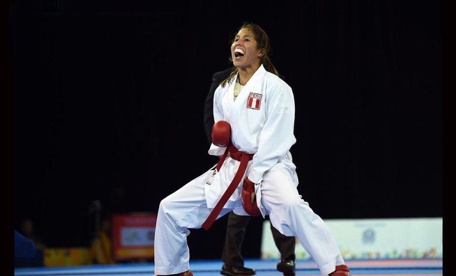 Alexandra Grande es nuestra principal carta en karate y debutará este sábado. (Foto: AFP)
