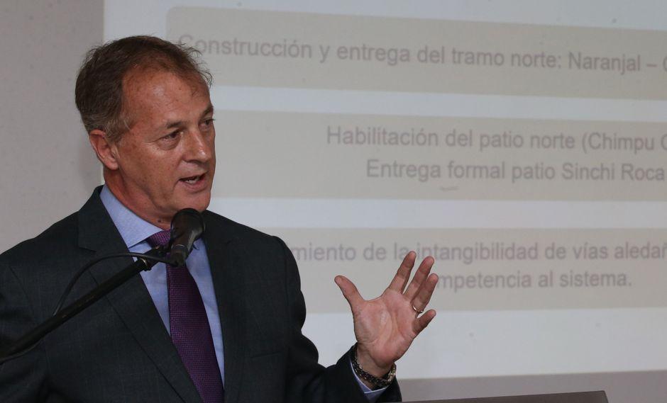 Jorge Muñoz señaló que se ha reunido con el Ejecutivo para definir una transferencia de fondos en caso de desastres naturales. (Foto: GEC)