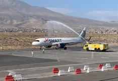 Aeropuerto de Arequipa reanudó vuelos internacionales este lunes