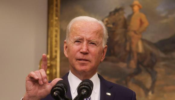 Joe Biden, presidente de Estados Unidos. (Foto: Reuters)