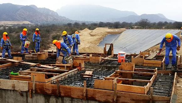 Robusto. El sector construcción sigue con los ingresos más altos, pese a caída en el último trimestre. (Foto: GEC)