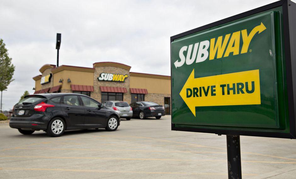 Restaurante de Subway.