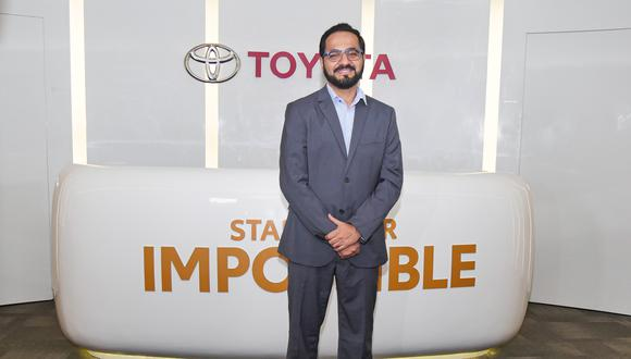 José Ricardo Gomes, Gerente Ejecutivo de Toyota del Perú. (Foto: Difusión)