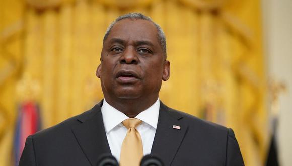 El secretario de Defensa de Estados Unidos, Lloyd Austin. (Foto: AFP).