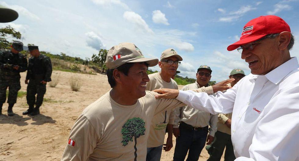 El presidente Martín Vizcarra negó que haya cometido alguna irregularidad en su gestión como gobernador de Moquegua en el 2014. (Foto: Presidencia)