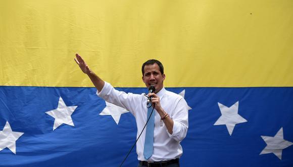 Juan Guaidó. (Foto: AFP)