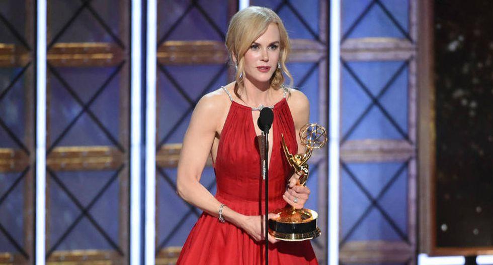 FOTO 17 | Mejor actriz protagonista de una miniserie o TV Movie: Nicole Kidman – 'Big Little Lies' (Foto: AFP)