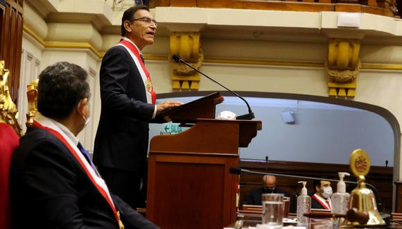 Presidente Vizcarra anuncia aprobación de una pensión de orfandad (Foto: Presidencia de la República)