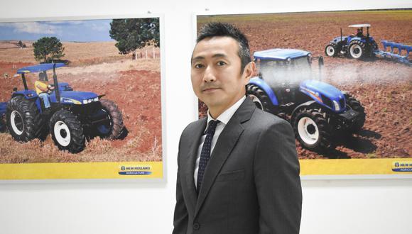 Gerente general de la empresa del grupo Mitsui, Yohei Nagai. (Foto: Difusión)