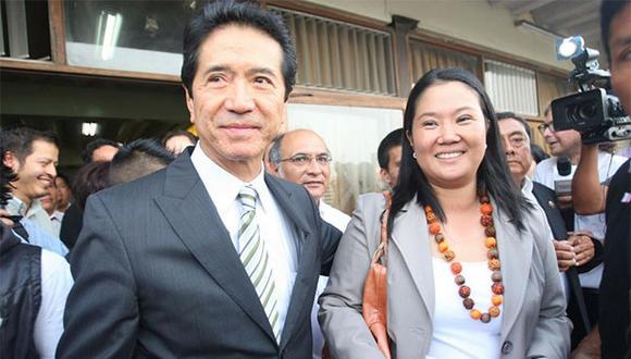 Keiko Fujimori está detenida, mientras que Jaime Yoshiyama se encuentra en Estados Unidos. (Foto: Trome)